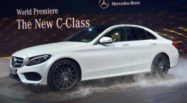 Mercedes официально представили новый C-Class