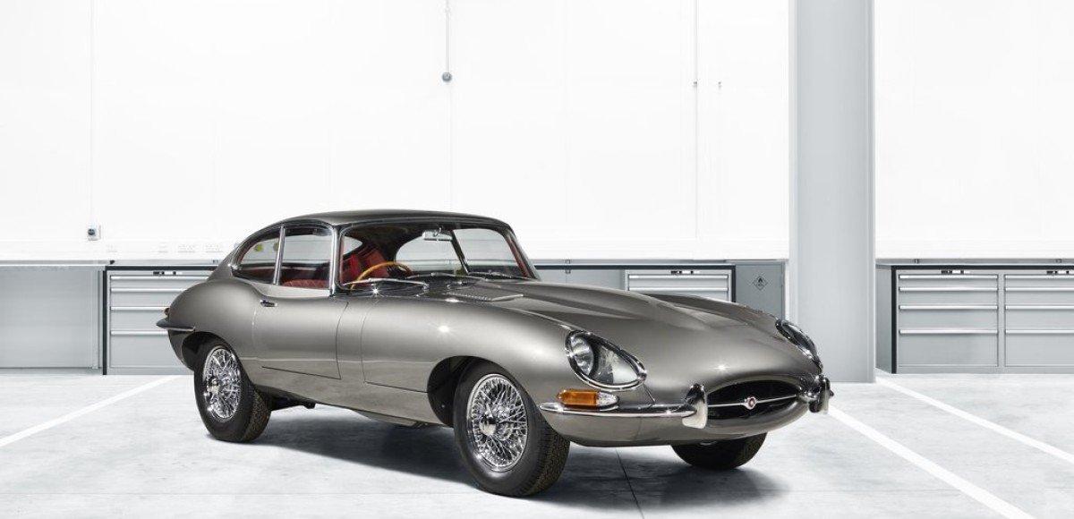 Jaguar E-type: возрождение легенды