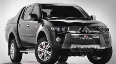 Team Mitsubishi Ralliart показала модернизированный Triton