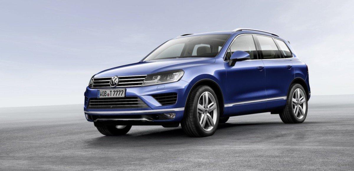Обновленный VW Touareg увидят в Китае