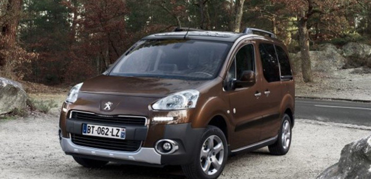 Peugeot Partner Teepee, некоммерческий грузовик