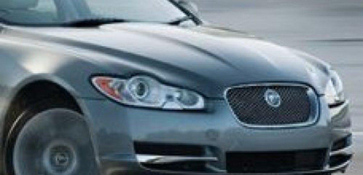 Официальные фотографии Jaguar XF