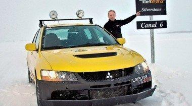 Школа Laponie Ice Driving. Метель над Сильверстоуном
