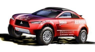 Mitsubishi представляет новый Racing Lancer для ралли «Дакар-2009»