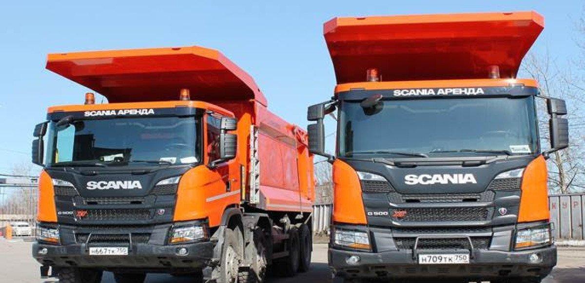 «Северсталь» получила в аренду самосвалы Scania Hagen XL