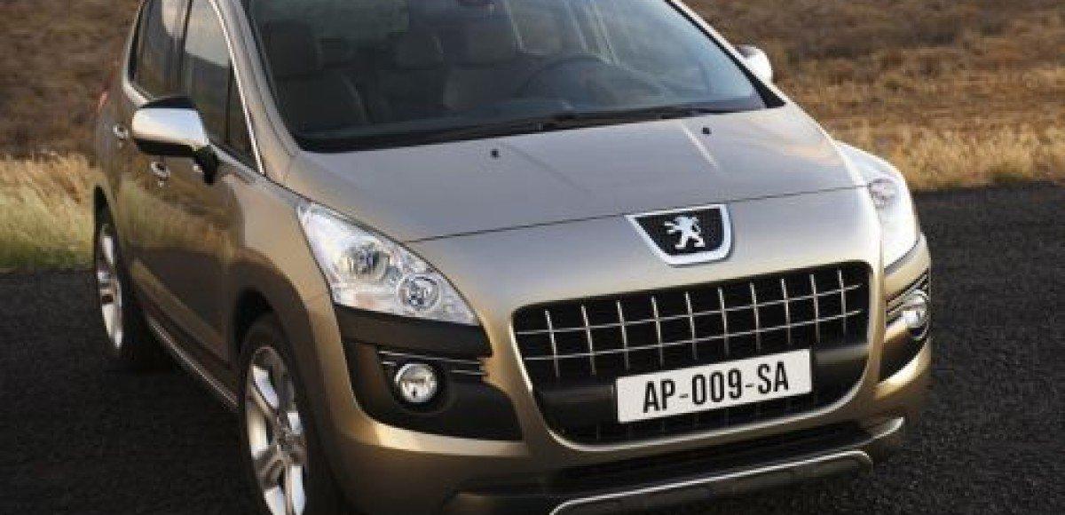 Компания Peugeot представляет кроссовер 3008