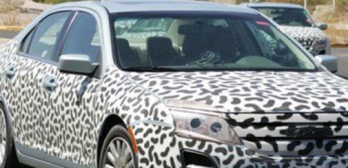 Новый седан Ford Fusion проходит тесты