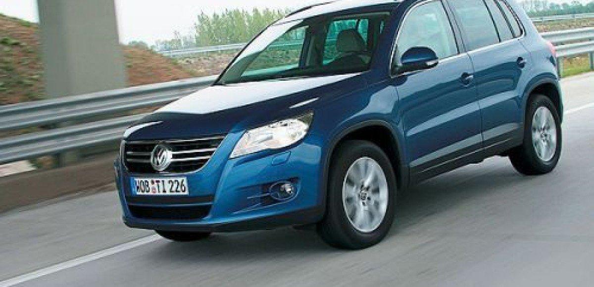 В России начинаются продажи Volkswagen Tiguan отечественной сборки