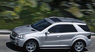 Mercedes-Benz М-class. Эстафету принял