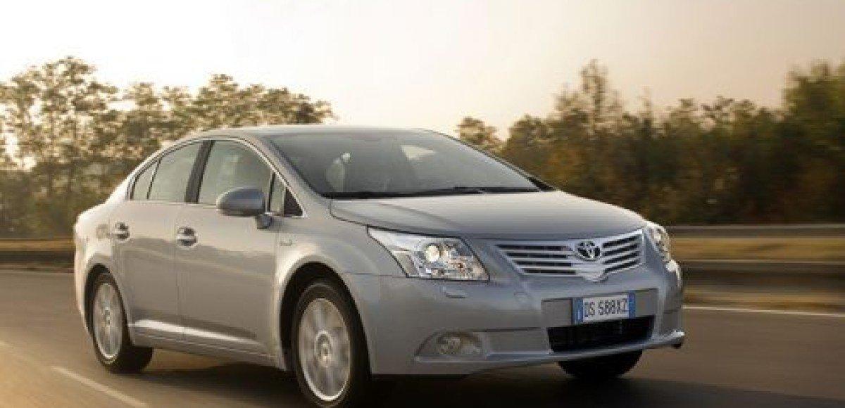 «Инчкейп Олимп», Санкт-Петербург делает эксклюзивное предложение на автомобили Toyota Avensis