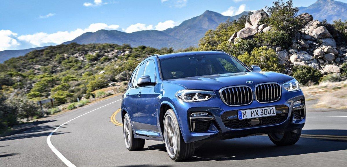 Новый BMW X3 прибудет в Россию осенью