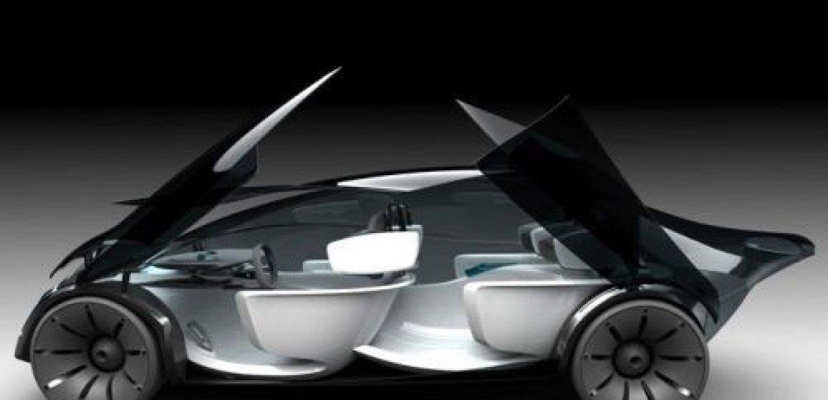 Airflow – стеклянный автомобиль