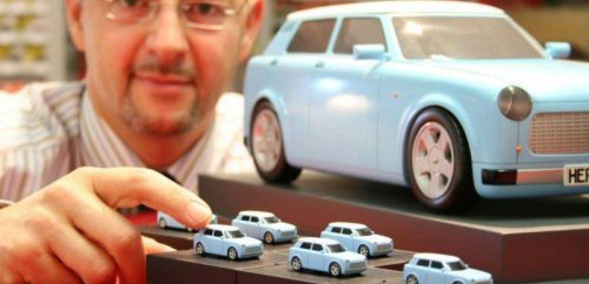 Электрический прототип Trabant покажут во Франкфурте