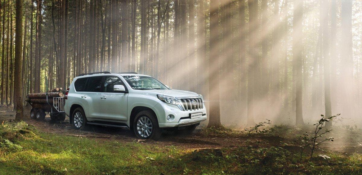 Toyota отзывает Land Cruiser Prado и Hiace