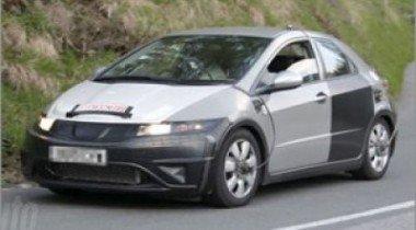 В сети появились шпионские фотографии нового Honda Civic