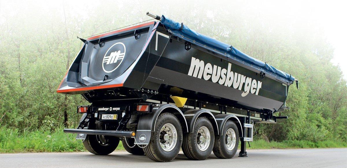 «Лайт» для стройки: полуприцеп-самосвал «Meusburger Новтрак»