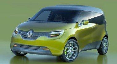 Renault преставила фото электрического компактвэна Frendzy