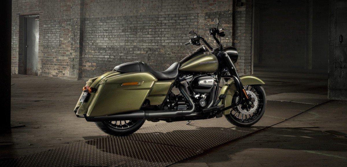 Harley-Davidson выпустила новый бэггер Road King