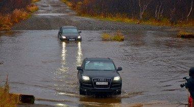 В Заполярье на Audi Q7: колорит и эстетика русского севера
