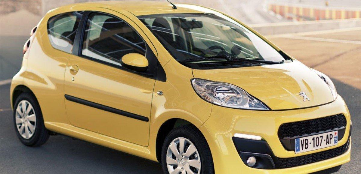 Peugeot 107 – сама компактность