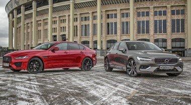 Jaguar XE против Volvo S60. Выбираем бизнес-седан, «немцев» не предлагать!
