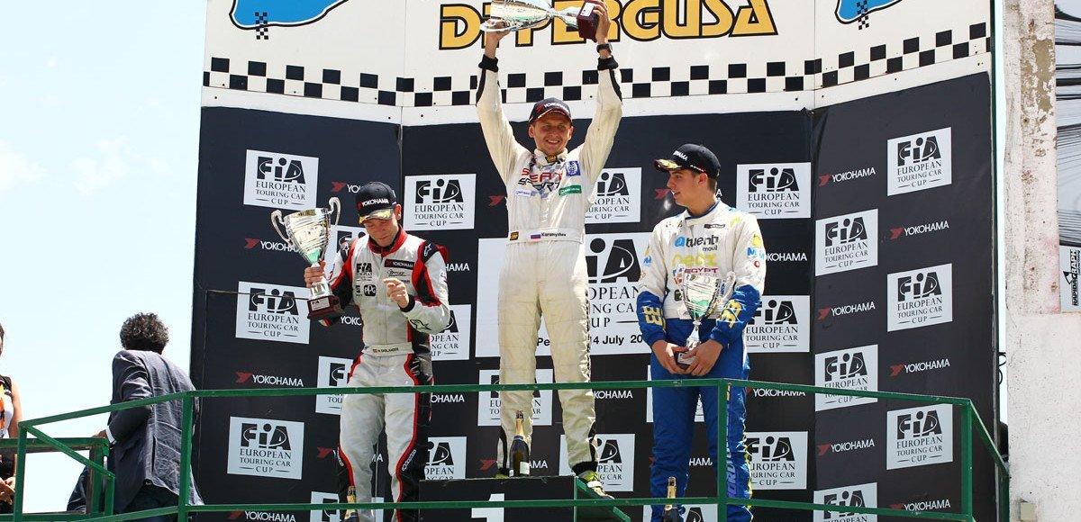 Николай Карамышев выиграл этап Кубка Европы на Сицилии