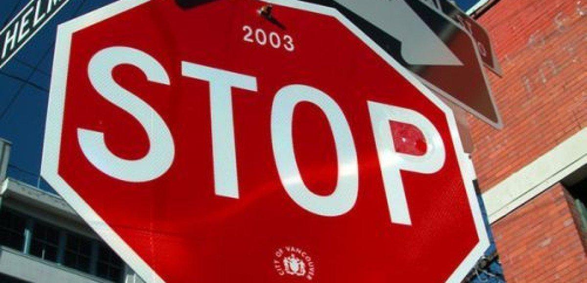 В Германии избавятся от трети дорожных знаков и указателей