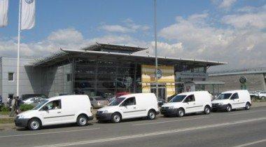 Volkswagen поставил партию коммерческих Caddy для пивоваров «Балтики»