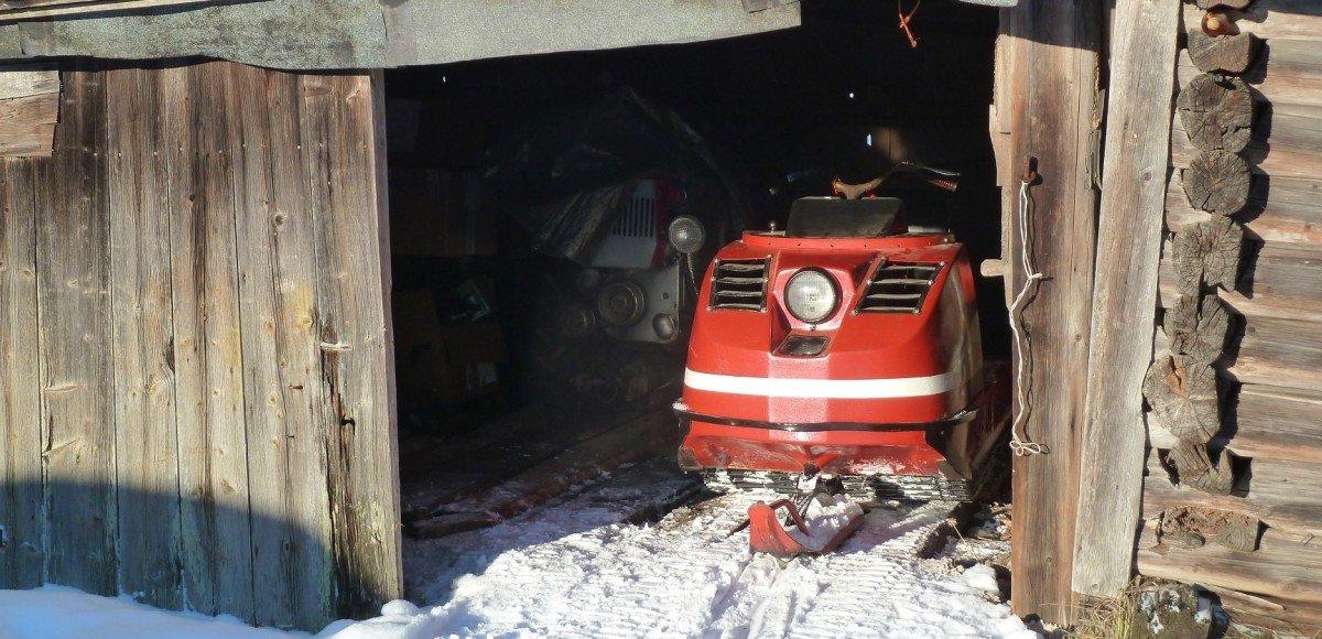 «Буран» из Канады: история первого советского снегохода