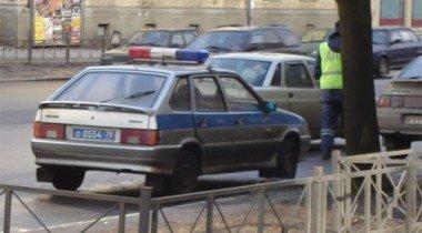 В ходе задержания пьяного водителя милиционером был ранен пешеход
