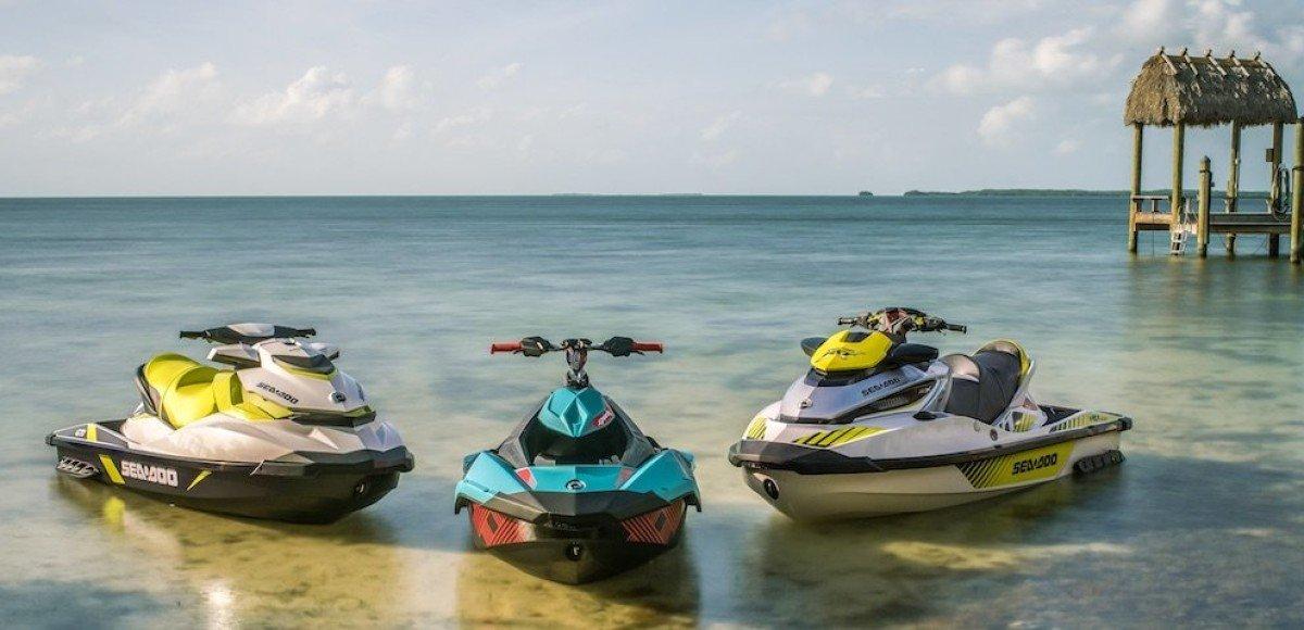 Новинки гидроциклов Sea-Doo