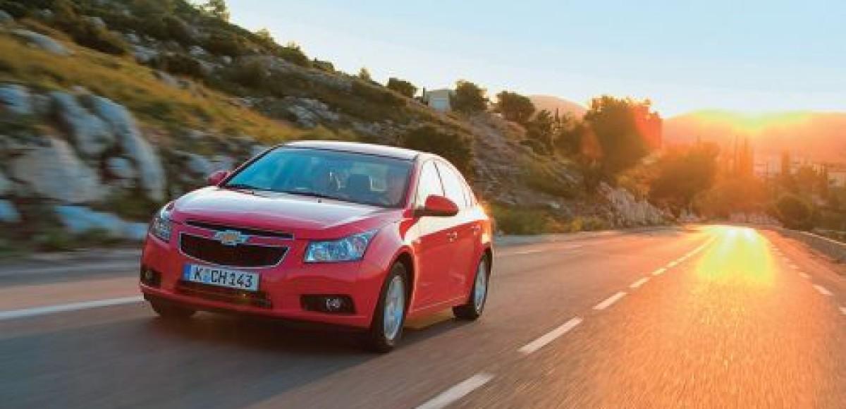 В Санкт-Петербурге стартовало производство седана Chevrolet Cruze