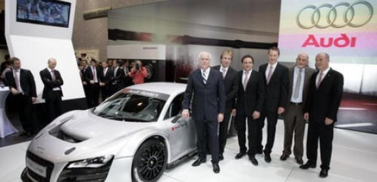 Компания Audi опубликовала программу участия в автоспорте на 2009-й год
