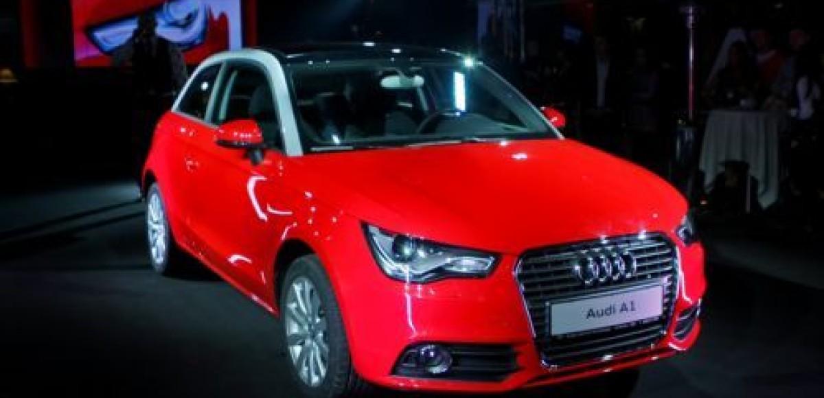В Петербурге состоялась презентация Audi A1
