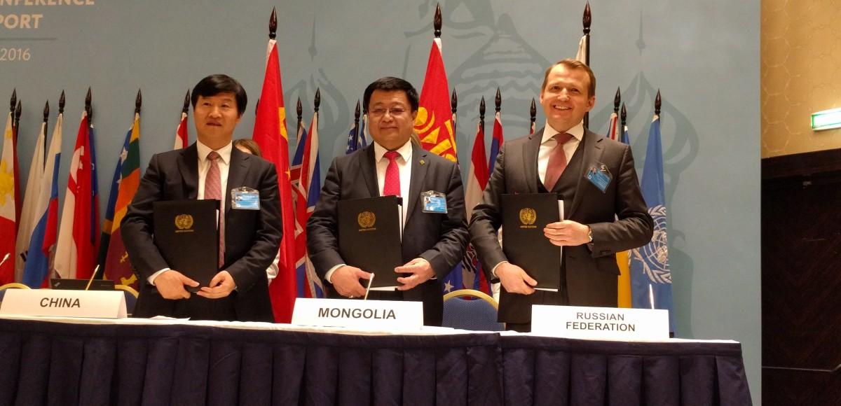 Россия, Китай и Монголия: Соглашение о регулярных грузовых автомобильных перевозках