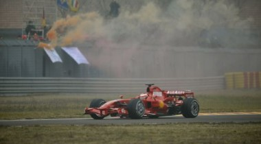 Последняя проверка всех систем Ferrari