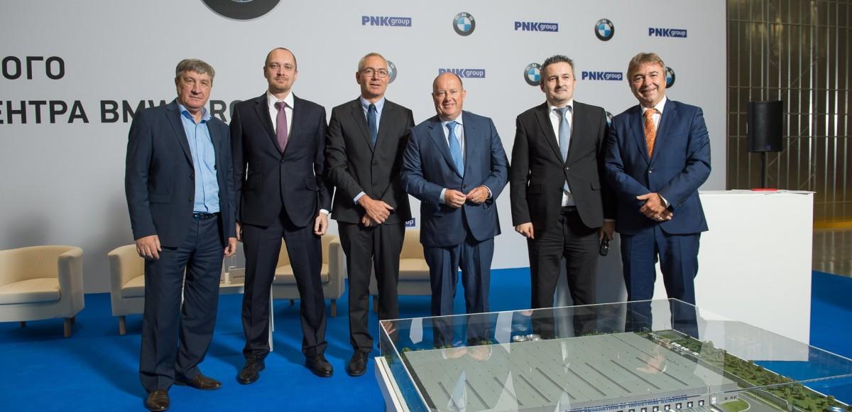 BMW открыла крупнейший склад в Подмосковье