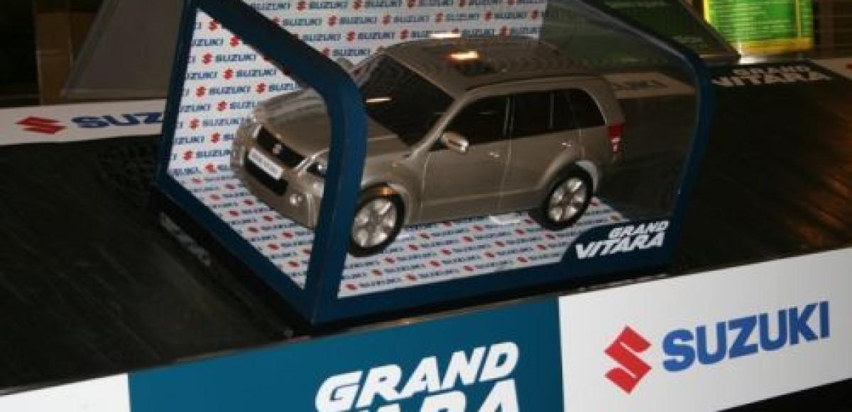 Аэропорт «Домодедово». Suzuki Grand Vitara на багажной ленте