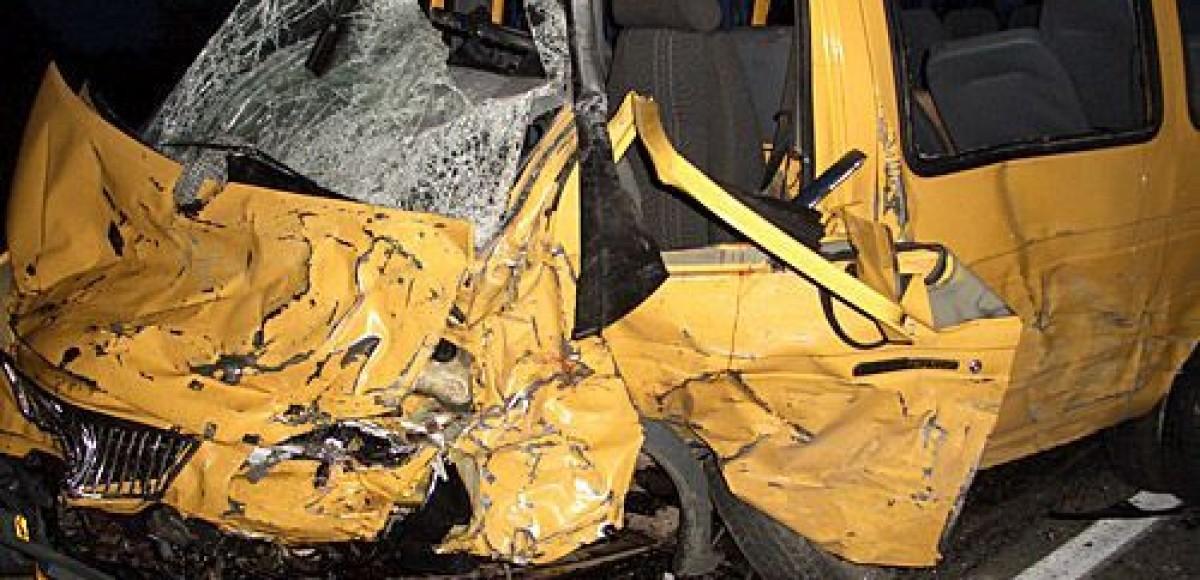 В Москве произошла авария с участием маршрутки