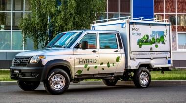 Гибридный УАЗ «Профи»: два мотора, автомат и отличная динамика