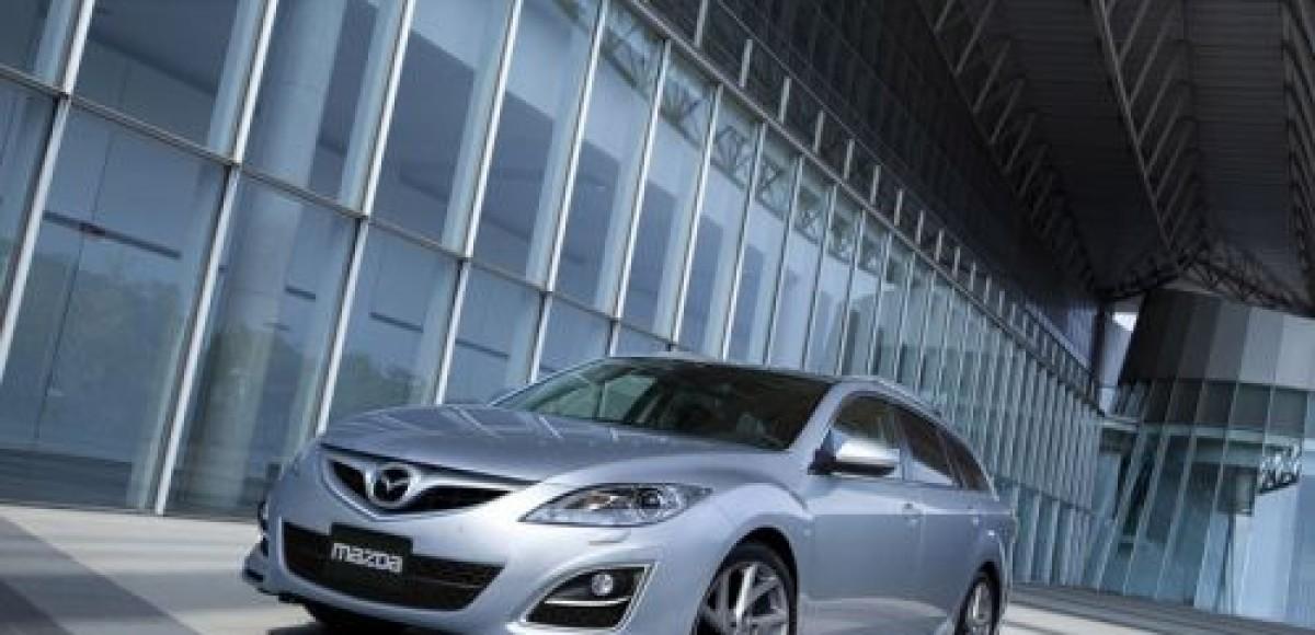 В Японии стартовали продажи обновленной Mazda6