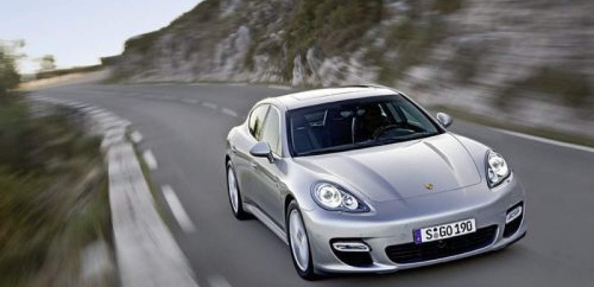 Porsche Panamera Gran Turismo приедет в Шанхай