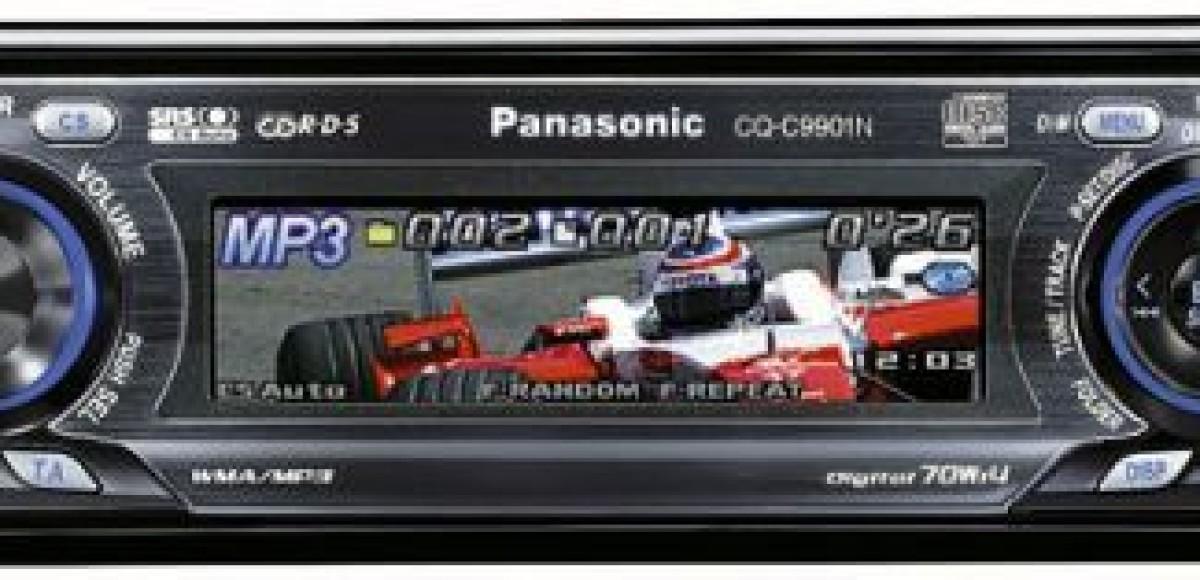 Panasonic CQ-C9901. Все краски звука