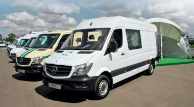 Тест-драйв Mercedes-Benz LCV: «коммерсанты» и «бодибилдеры»