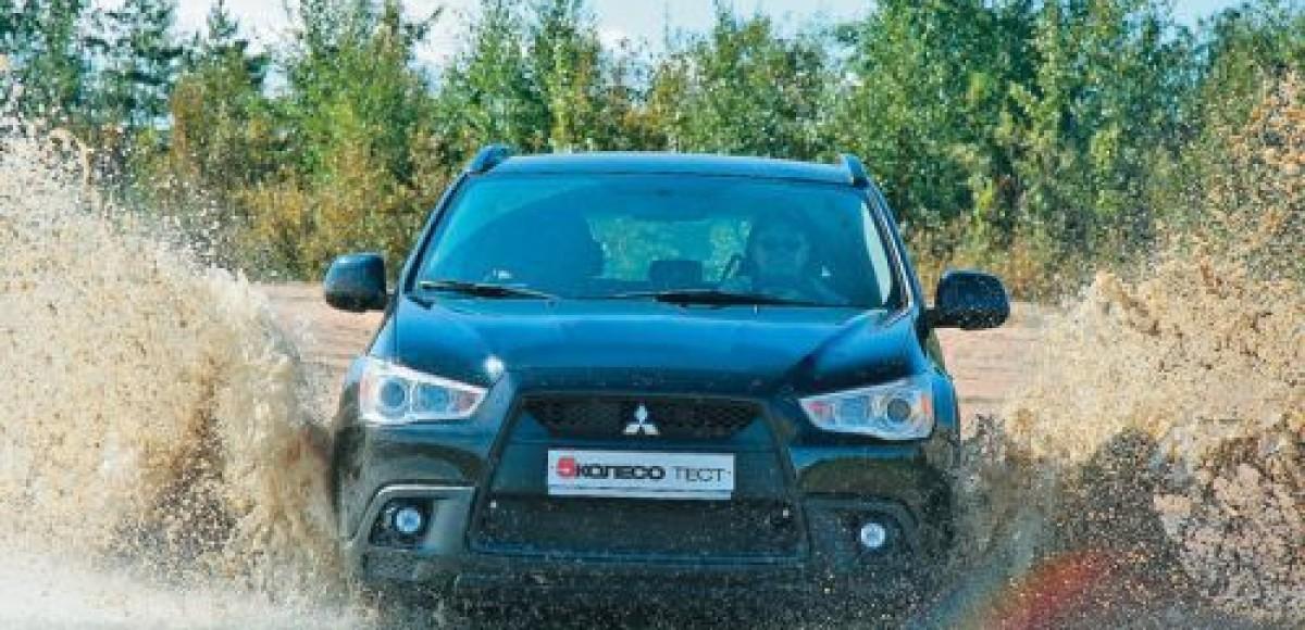Mitsubishi ASX 2012 модельного года уже в России