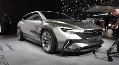 Subaru VIZIV Tourer Concept: собери имя