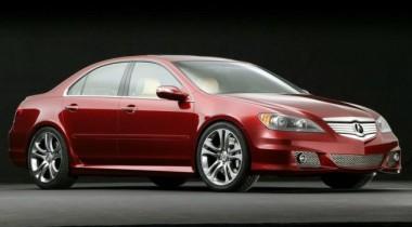 Acura RL. Обзор модели