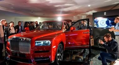 Внедорожник Rolls-Royce Cullinan представили в России