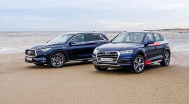 Audi Q5 против Infiniti QX50. Выбираем «премиальный» кроссовер за 3 миллиона