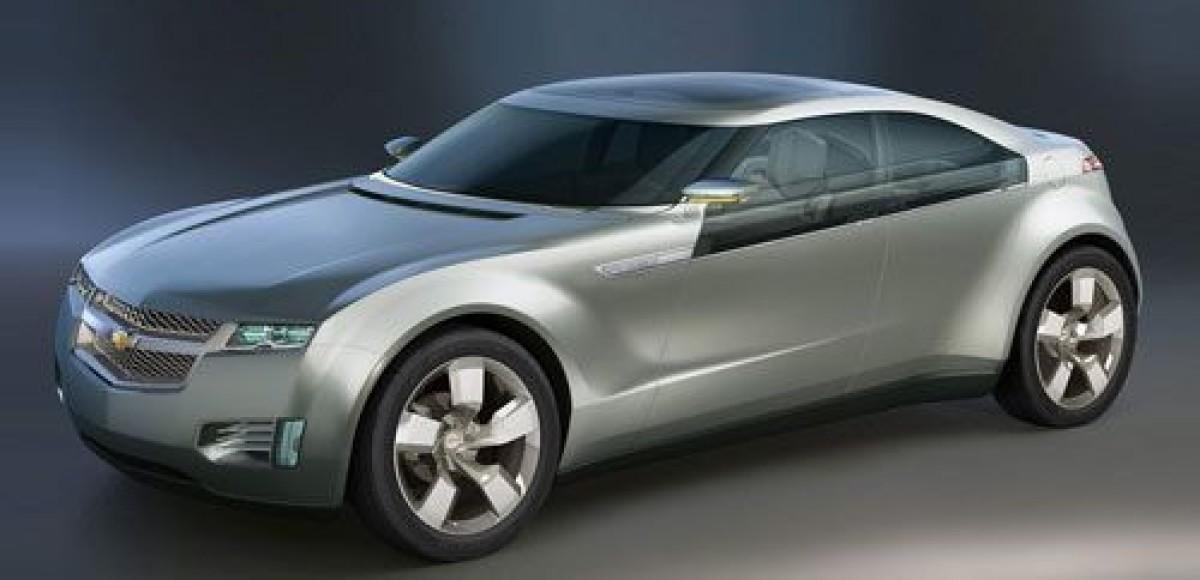 В Интернете появились первые изображения Chevrolet Volt